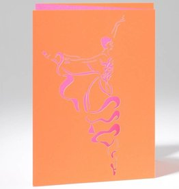 B Plus 201CO02-Caroline Ochoa Laser Cut Blank Card 41/2''x 61/4''-Arabesque