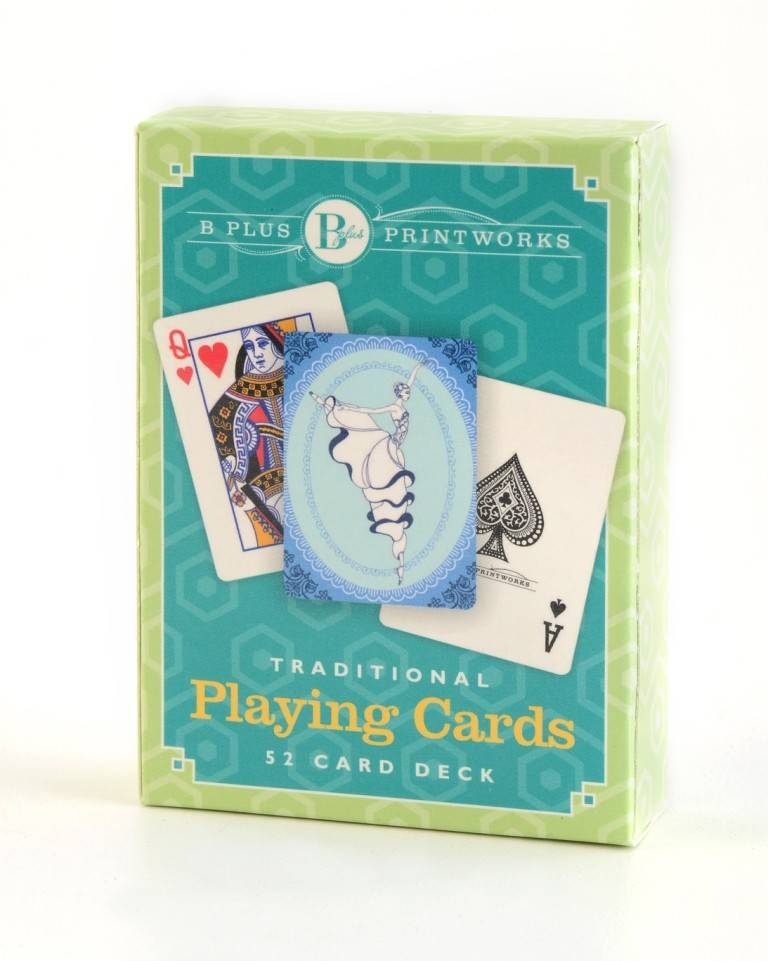 B Plus 901CO02-Playing Cards Arabesque