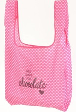 B Plus 800CC49-Shopping tote-WILL DANCE FOR CHOCOLATE