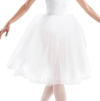 "Leo DanceWear LD137CT-Tutu Performance Juliet Soft Tulle 3 Layers OneSize Child 20"""