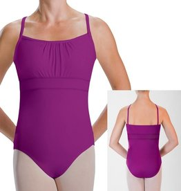 MotionWear 2560-Double Shirred Empire Banded Leo