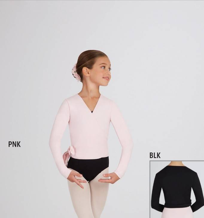 Capezio TC0010C-Wrap top Child