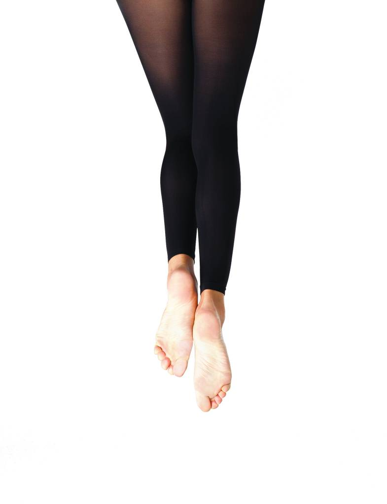 Capezio 1917-Footless Tight with Self Knit Waist Band-ADULT