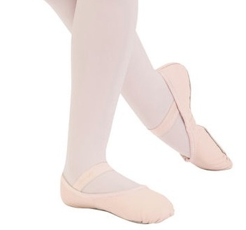 Capezio 200C/T-Teknik Full Sole Leather Ballet slipper Child