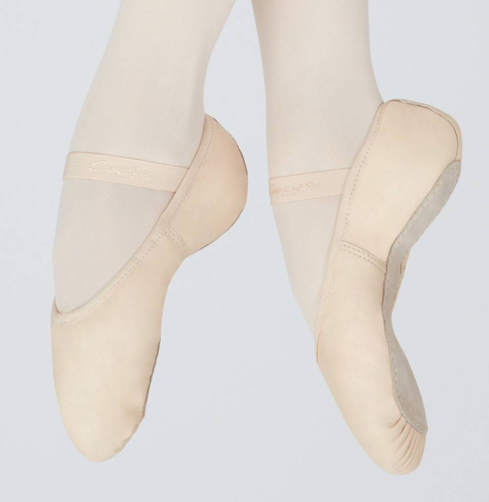 Capezio 207C-Gracie Ballet Slipper Full Sole Child LPK