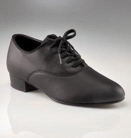 """Capezio 445-Men Shoes 1"""" (Oxford) Leather sole,BLK"""