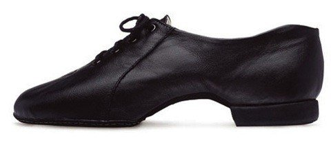 Bloch S0480L-Enduro Tech Split-Sole Jazz shoes-BLK