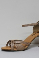"Atten 339-Ballroom Shoes 2.75"" CKSuede Sole-TAN VINYL"
