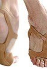 Angelo Luzio H03-Half Sole Dance Shoes-BEIGE LEATHER