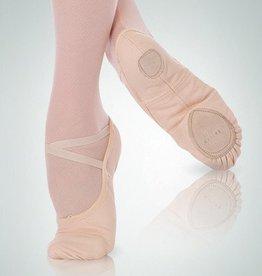 Angelo Luzio 246A-Canvas Ballet Slipper Wendy total STRETCH- BLACK