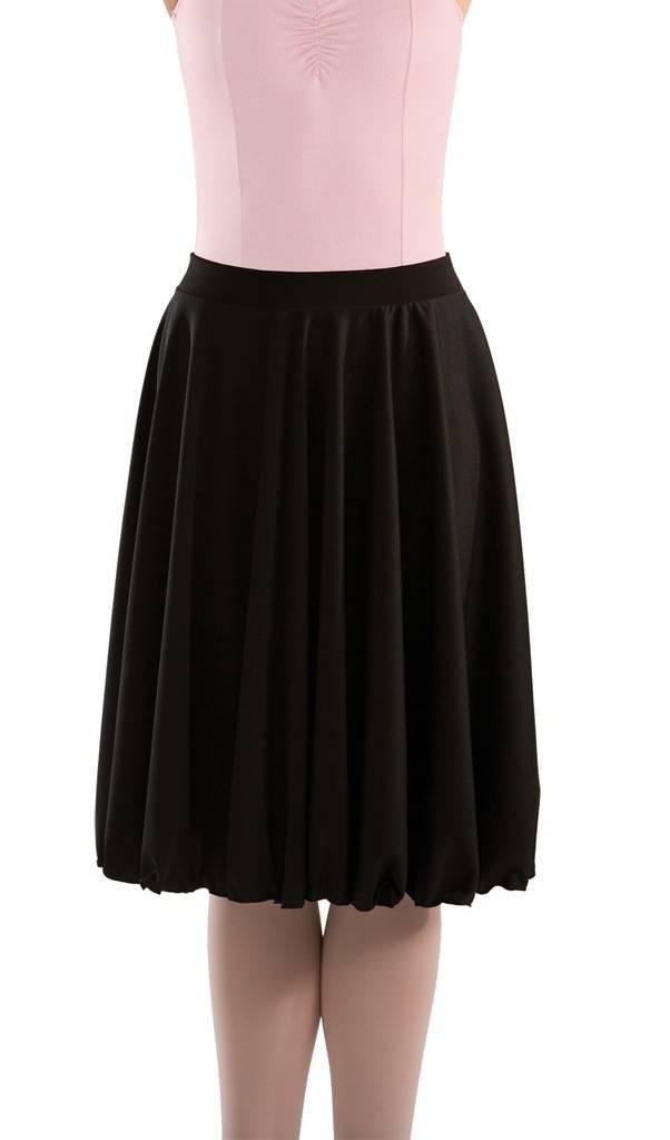 MotionWear 1364-Character Skirt ADULT-BLACK
