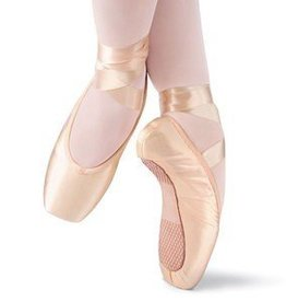 Leo's Dancewear Pointe Leo's Dancewear Full Shank Pointe Shoes-PINK