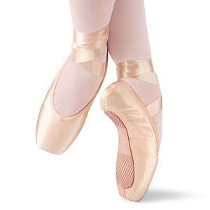 Leo's Dancewear Pointe Leo's Dancewear Full Shank Pointe Shoes-PINK