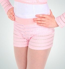 BodyWrappers 2035-Knitwear Dance Short-PINK