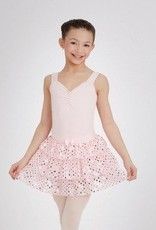 Capezio IM327C-Pull On Tier Skirt-PINK