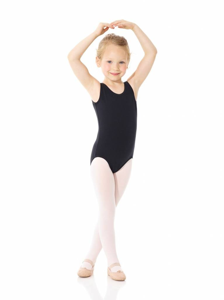 Mondor 40095-Tank leotard Child-BLACK