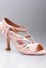 "Capezio BR135-Ballroom Shoes 2.5"" Suede Sole-BDL (Baby Doll Blush)"