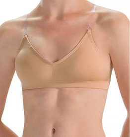 MotionWear 2497-Convertible Strap Bra with Removable Padded Cups