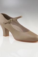 """Capezio 650-Student Footlight Shoes 2""""-TAN"""