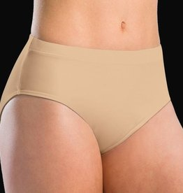 MotionWear 2494-Low Rise Team Briefs-NUDE