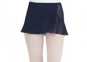 Capezio CC130-Wrap skirt-NAVY