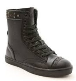 Pastry Dance 161020-Military Glitz Combat Boot Sneaker Child-BLACK