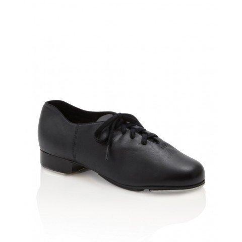 Capezio CG19-Cadance Tap Shoes Leather Sole Adult-BLACK
