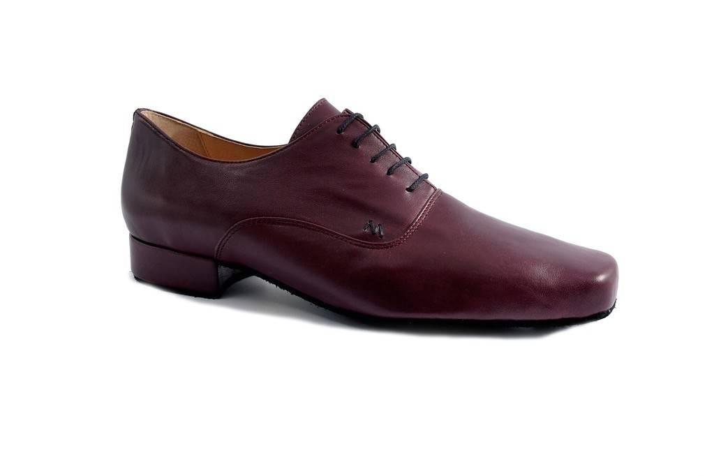 Merlet UDO-Ballroom Men Shoes 1'' Suede Sole Metis Leather-VIN