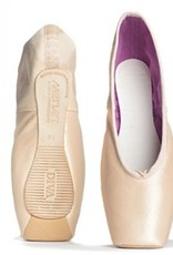 Merlet DIVA-Pointe Shoes Great Stability and Durability. Advanced to professional level-3/4 SHANK-FLESH