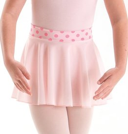 MotionWear 1008-Pull-On Circle Skirt-PINK