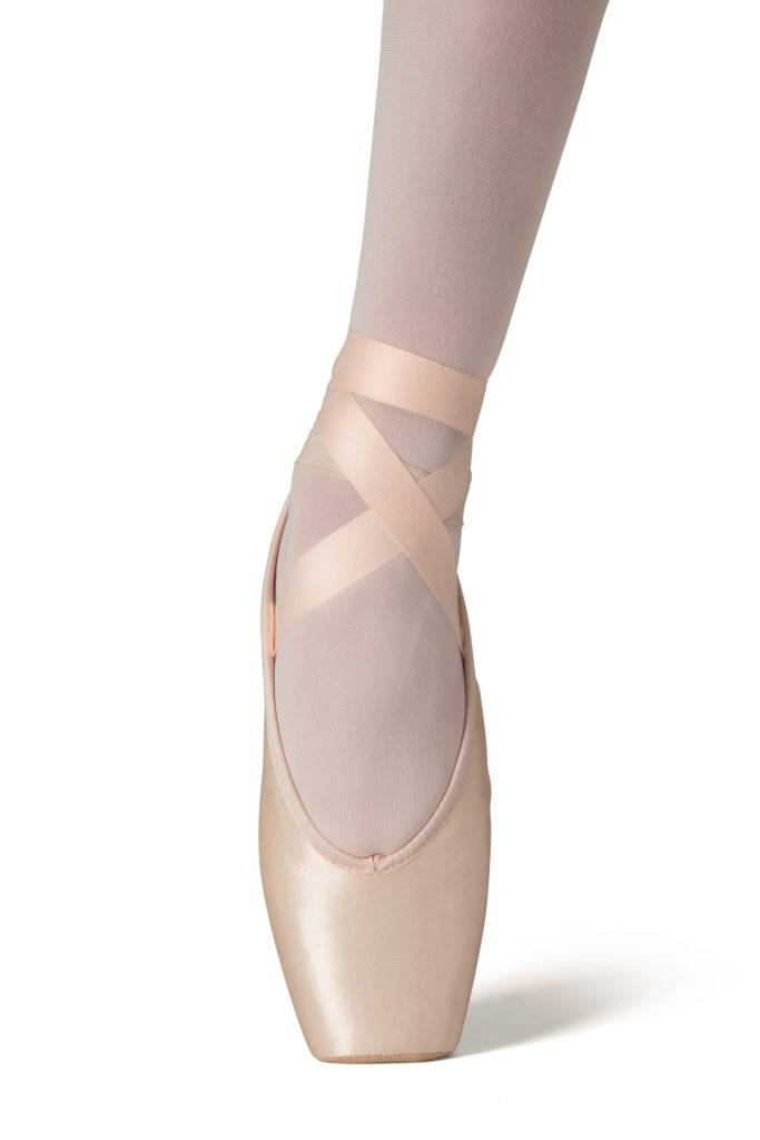 Merlet ROSE-Beginer Training Pointe Shoes-FLESH