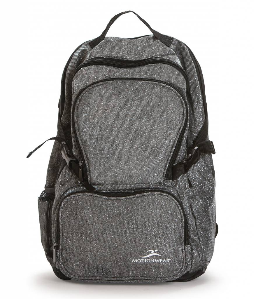 MotionWear 4854-017-Silver Sparkle Backpack