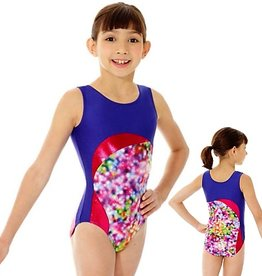 Mondor 17881-Gym Tank Leotard-SHOWLIGHTS