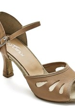 SoDanca BL174-Remy Ballroom Shoes 2.5'' Suede Sole-TAN LEATHER