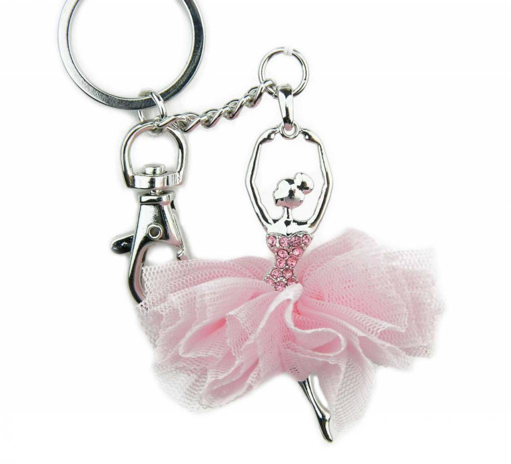 American Dance Supply 108-Ballerina Key Chain