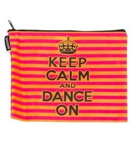 Sugar & Bruno D7360-Keep Calm And Dance On-Make-Up Bag