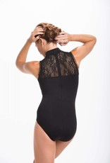 AinslieWear 1022KL-Rebecca With Kara Lace-BLACK
