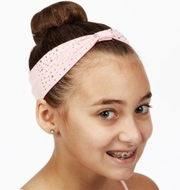 Dasha 2651-Bejeweled Headband-PINK