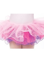 Dasha Copy of 4410BL-Super Soft Tricolor Tutu-BLUE-ONE SIZE