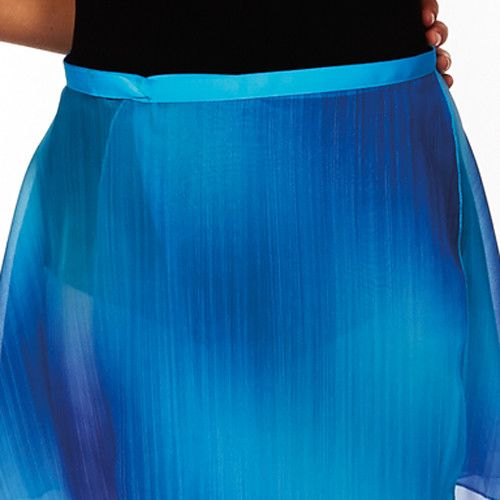 Dasha 4481TB-Adult Ombre Wrap-Blue One Size