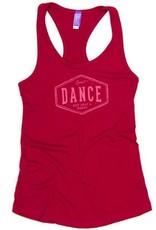 Covet Dance DNJH-TK-Racerback tank-DANCE-NOT JUST A HOBBY
