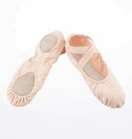 Merlet STELLA-Split Sole Stretch Canevas,with elastic edge-FLESH