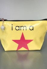 B Plus 450CC19-Chit Chat Small Cosmetic bags 7''x 4''x 2 1/4''- I Am a Star