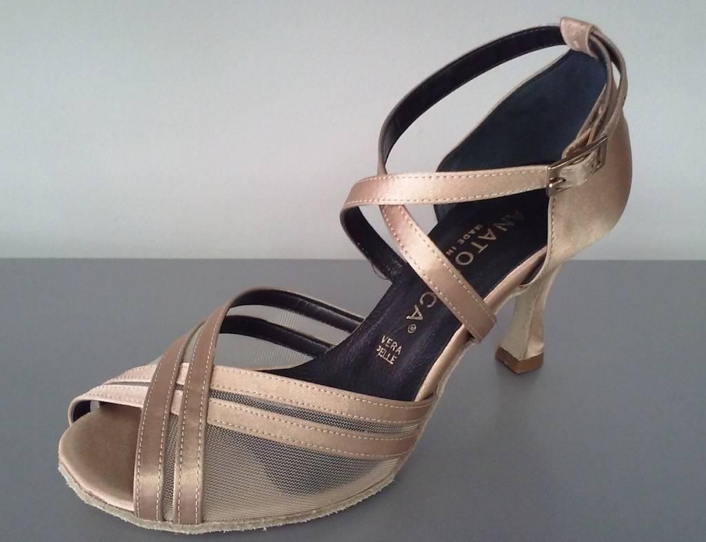 Anatomica 605-Ballroom Shoes 3'' Suede Sole