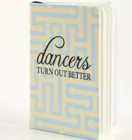 B Plus 300CC11-Dancers Turn out Better Chit Chat Notebook 3''x 5