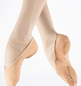 Bloch S0282L-Zenith Canvas Stretch Split Sole Ballet Slipper-PNK-C