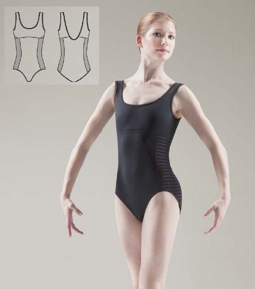 Bloch L4795-Asteri Leotard-BLACK-SMALL