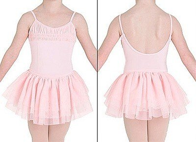 Bloch CL7107-Dance Dress-PINK-6X-7 CHILD