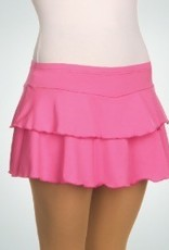 BodyWrappers 685-Flounce Skort-PINK-MEDIUM