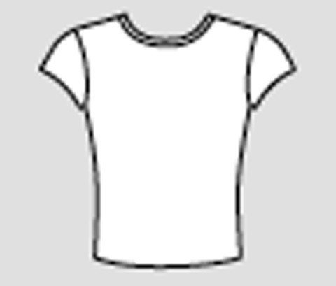 Capezio HM831-T-Shirt-white-small adult